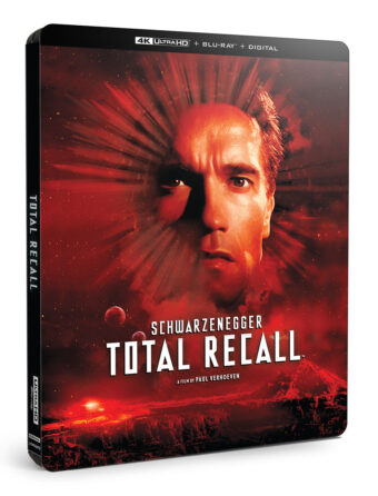 Total Recall 30th Anniversary 4K UHD + Blu-ray + Digital 3-Disc Edition