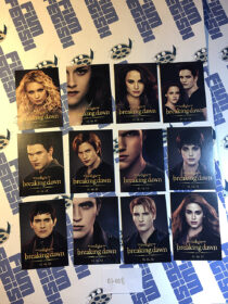 The Twilight Saga: Breaking Dawn Part 2 Set of 12 Character Trading Cards Comic Con Exclusive (2012)