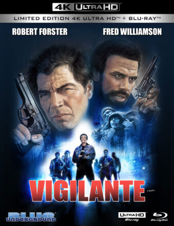 Vigilante 2-Disc Limited Edition 4K UHD + Blu-ray