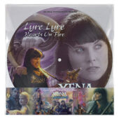 Xena: Warrior Princess Lyre, Lyre Hearts On Fire Original Television Soundtrack Picture Disc Vinyl Edition