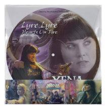 Xena: Warrior Princess Lyre, Lyre Hearts On Fire Original Television Soundtrack Picture Disc Vinyl Edition