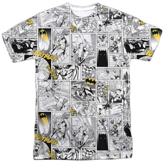 DC Comics Batman Black and Yellow Two-Tone Print BM2298