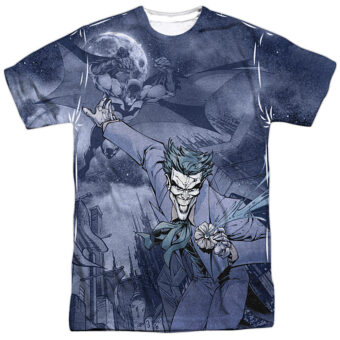 DC Comics Catch the Joker T-Shirt Design BM2299