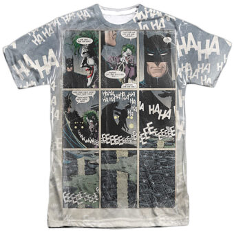 DC Comics Batman with Joker's Last Laugh T-Shirt BM2517