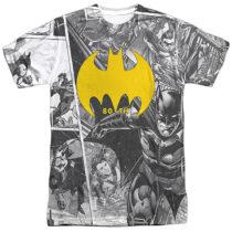 DC Comics Batman 80th Anniversary Collage T-Shirt BM2945