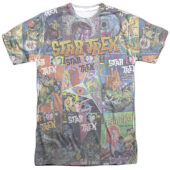 Star Trek: The Original TV Series Classic Comics T-Shirt CBS1290