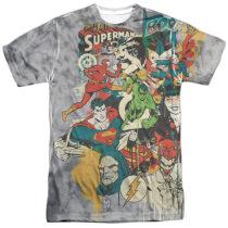 DC Universe Super Friends or Foes T-Shirt DCO702