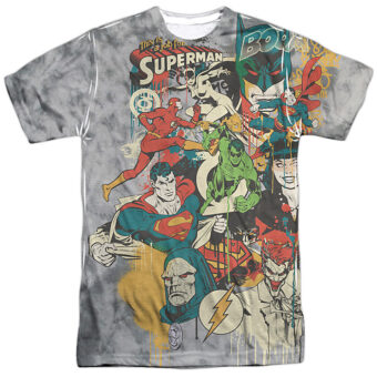 DC Universe Super Friends or Foes T-Shirt DCO702