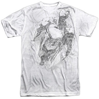 Superman Flying Sketch T-Shirt SM2186