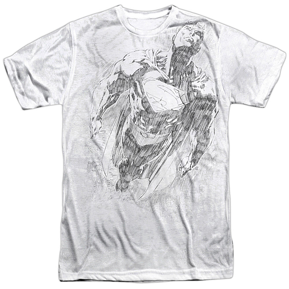 Superman Flying Sketch T-Shirt SM2186