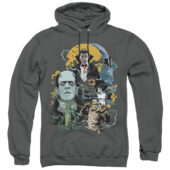 Universal Monsters Portrait Collage Mash Up Pullover UNI1266