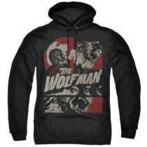 When The Wolf Man Blooms Pullover Hoodie Sweatshirt UNI1269-AFTH