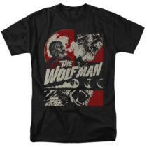 When The Wolf Man Blooms T-Shirt UNI1269-AT