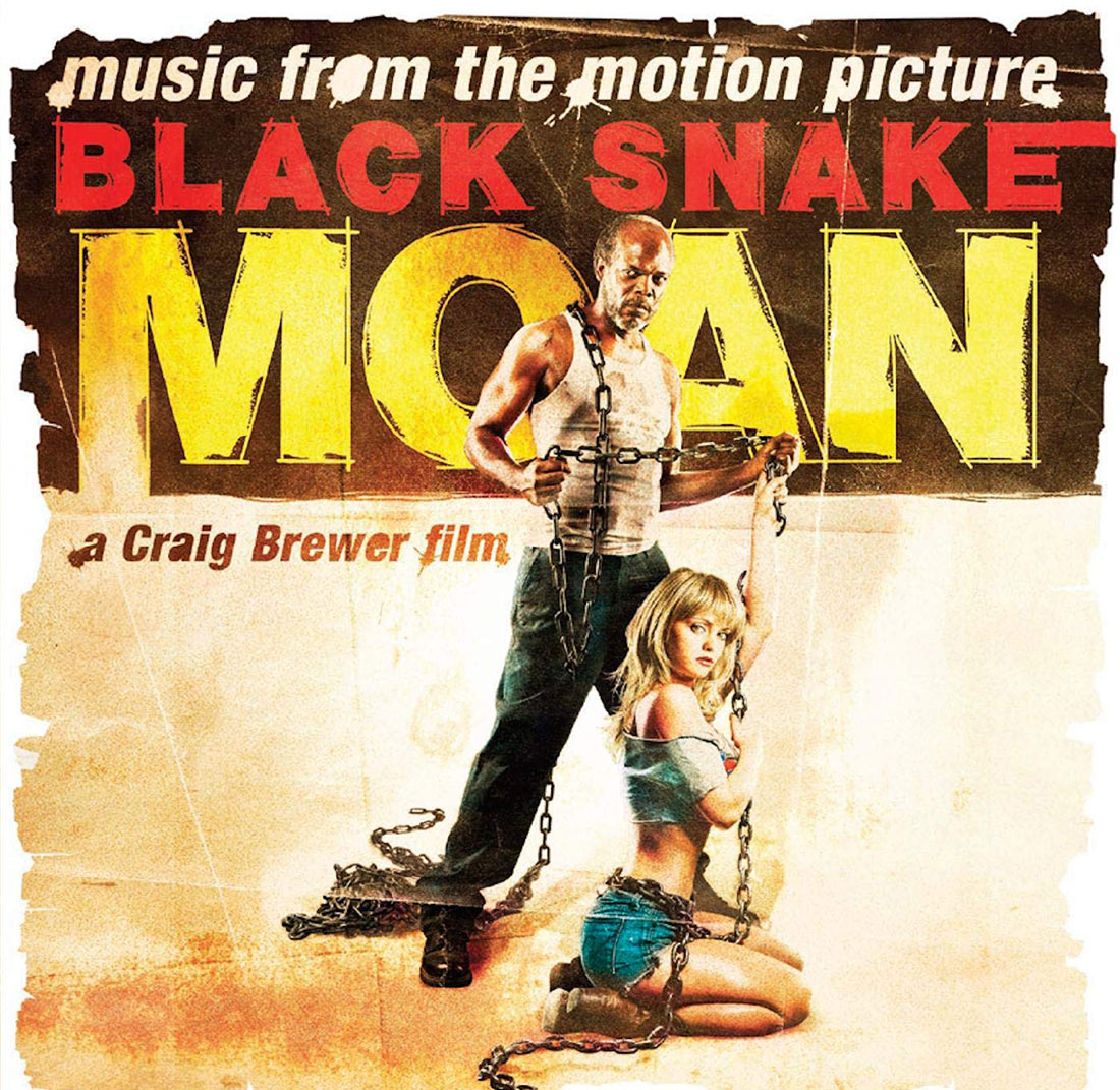 Black Snake Moan Original Motion Picture Soundtrack Orange Swirl Vinyl Edition