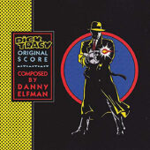 Dick Tracy Original Soundtrack Score by Danny Elfman Transparent Blue Vinyl Edition