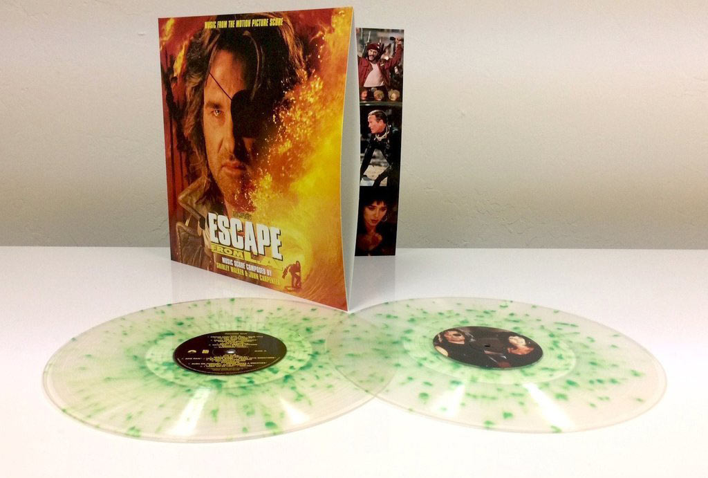 Escape from L.A. Music from the Motion Picture Soundtrack Score 2-Disc Special Vinyl Edition