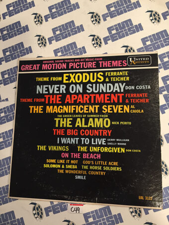 Original Soundtracks and Hit Music from Great Motion Picture Themes Vinyl Edition (UAL 3122) [C49]