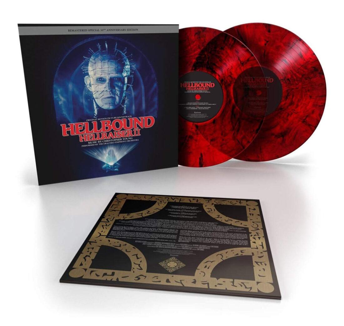 Hellbound: Hellraiser II 30th Anniversary 2-Disc Transparent Red Vinyl Edition