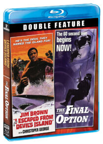 I Escaped From Devil's Island / The Final Option Double Feature Blu-ray Edition