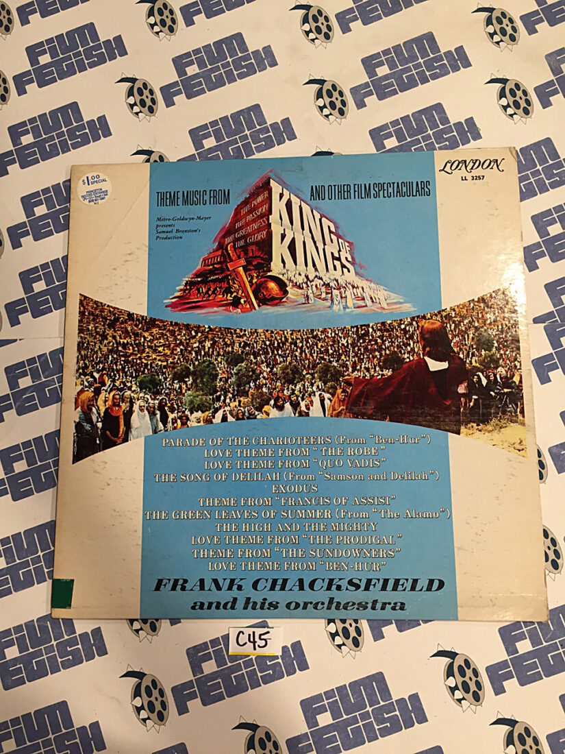 Original Theme Music From King of Kings and Other Film Spectaculars Vinyl Edition [C45]