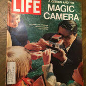 Life Magazine (October 27, 1972) Dr. Edward Land: A Genius and His Magic Camera, Polaroid [B03]