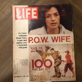 Life Magazine (September 29, 1972) P.O.W. Wife Valerie Kushner [J100]