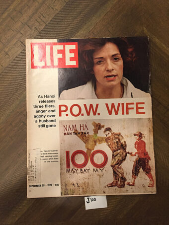 Life Magazine (September 29, 1972) P.O.W. Wife Valerie Kushner [J100]