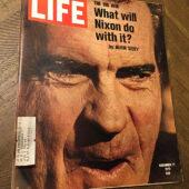 Life Magazine (November 17, 1972) President Richard Nixon Cover [J92]