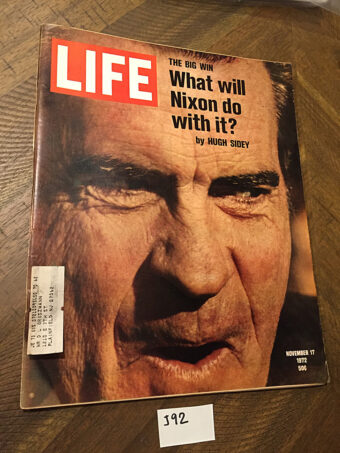 Life Magazine (November 17, 1972) President Richard Nixon Cover [J92]