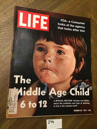 Life Magazine (October 20, 1972) FDA, The Middle Age Child [J94]