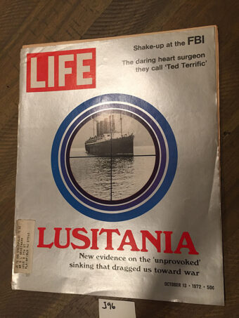 Life Magazine (October 13, 1972) Sinking The Lusitania, FBI Shake-up, Heart Surgeon Ted Terrific [J96]