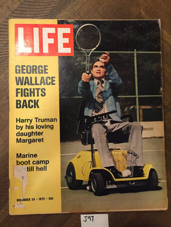 Life Magazine (November 24, 1972) George Wallace Cover, Harry Truman [J97]