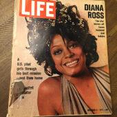 Life Magazine (December 8, 1972) Singer Diana Ross Cover, Motown, The Supremes [J99]