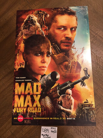 Mad Max: Fury Road 11×17 inch Real D 3D Promotional Movie Poster (2015) [D89]