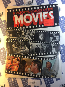 A Pictorial History of the Movies Hardcover Edition (1975) [2063]