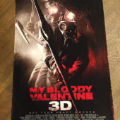My Bloody Valentine 3D 13×20 inch Promotional Movie Poster (2009) [D83]