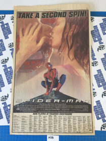 The New York Times Spider-Man Full Page Newspaper Movie Ad (May 31, 2002) [A28]