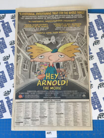 The New York Times Hey Arnold! The Movie Full Page Newspaper Movie Ad (June 28, 2002) [A29]