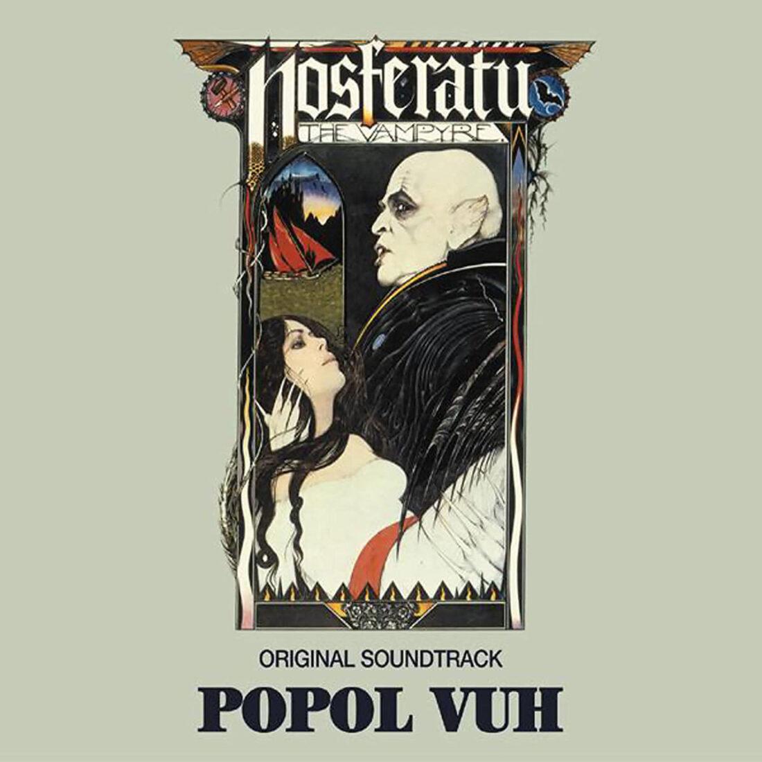 Nosferatu the Vampyre Remastered Film Soundtrack CD Popol Vuh, Werner Herzog