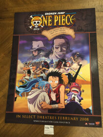 Shonen Jump: One Piece The Movie – The Desert Princess and the Pirates 18×24 inch Anime Poster [E06]