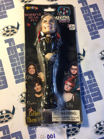 NovelToy The Osbourne Family Bobbing Head Pen Ozzy Osbourne (2002)