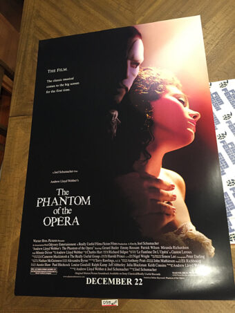 The Phantom of the Opera 27×40 inch Original Movie Poster (2004) [D35]