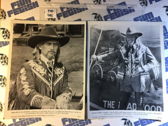 Buffalo Bill and the Indians or Sitting Bull's History Lesson Set of 2 Original  Press Photos – Paul Newman, Robert Altman [PHO941]
