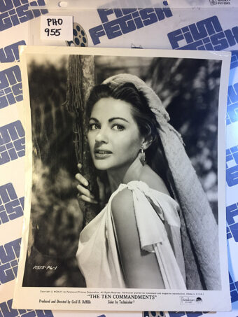 The Ten Commandments Original Press Photo Yvonne De Carlo [PHO955]