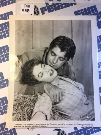 Raw Edge Original Press Photo Rory Calhoun, Yvonne De Carlo [PHO958]