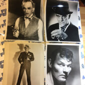 Set of 21 Original Press Photos Rod Steiger, Robert Duvall, Robert Mitchum, Laurel & Hardy, Universal Monsters + More [983]