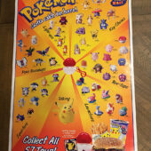 Burger King Pokemon 22 x 33 inch Promotional Toy Poster (1999) [D10]