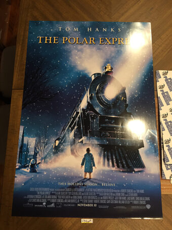 The Polar Express Original 27×40 inch Movie Poster (2004) Tom Hanks, Robert Zemeckis [D34]