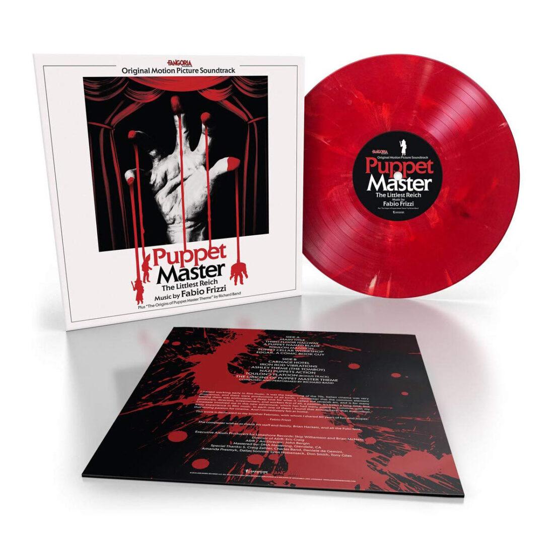 Puppet Master: The Littlest Reich Toulon's Bloody Revenge Vinyl Edition