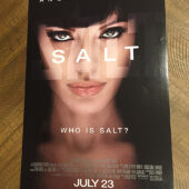 Salt 11×17 Movie Poster (2010) Phillip Noyce, Angelina Jolie [D79]
